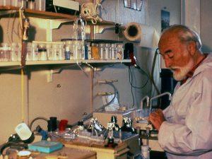 Al mòdul científic de la base antàrtica espanyola.