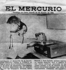 Estada a Xile (1962).