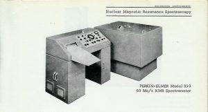 Espectròmetre RMN (1965).