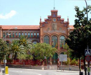 L'Escola Industrial de Terrassa. Foto: Àngel M. Hernández.